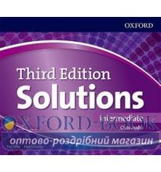 Solutions 3rd Edition Intermediate Class CDs