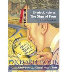 Dominoes 3 Sherlock Holmes: The Sign of Four with MultiROM 9780194639828 купить Киев Украина