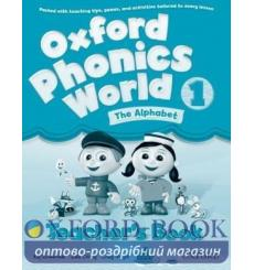 Книга для учителя Oxford Phonics World 1 Teachers Book ISBN 9780194596282 купить Киев Украина