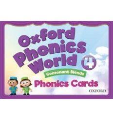 Oxford Phonics World 4 Phonics Cards