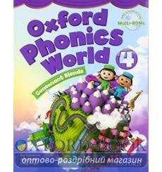Учебник Oxford Phonics World 4 Students Book with MultiROM ISBN 9780194596206 купить Киев Украина