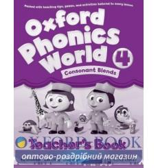 Книга для учителя Oxford Phonics World 4 Teachers Book ISBN 9780194596312 купить Киев Украина