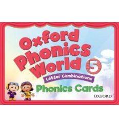 Oxford Phonics World 5 Phonics Cards