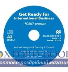 Get Ready for International Business (with TOEIC practice) 1 Class CDs ISBN 9780230447899