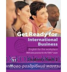 Учебник Get Ready for International Business (with TOEIC practice) 2 Students Book ISBN 9780230447912