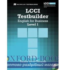 Тесты LCCI English for Business Level 1 Testbuilder with key and Audio CD 9780230733862 купить Киев Украина