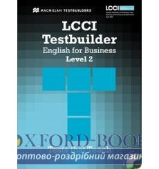 Тесты LCCI English for Business Level 2 Testbuilder with key and Audio CD 9780230733893 купить Киев Украина