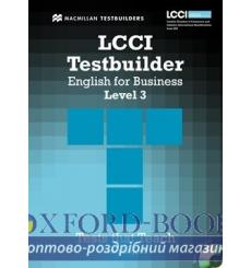 Тесты LCCI English for Business Level 3 Testbuilder with key and Audio CD 9780230733923 купить Киев Украина