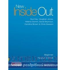 Книга для учителя New Inside Out Beginner Teachers Book with eBook Pack ISBN 9781786327307 купить Киев Украина