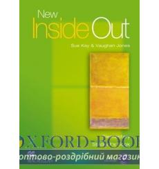 Учебник New Inside Out Elementary Students Book with CD-ROM ISBN 9781405099493 купить Киев Украина