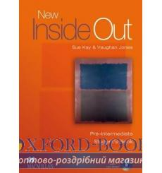 Учебник New Inside Out Pre-Intermediate Students Book with CD-ROM ISBN 9781405099547 купить Киев Украина