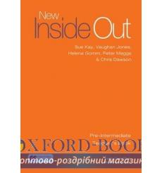 Книга для учителя New Inside Out Pre-Intermediate Teachers Book with eBook Pack ISBN 9781786327338 купить Киев Украина