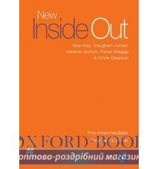 Книга для учителя New Inside Out Pre-Intermediate Teachers Book with Test CD ISBN 9780230020993 купить Киев Украина