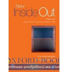 Тетрадь new inside out pre intermediate workbook with key and cd 9781405099646 купить Киев Украина