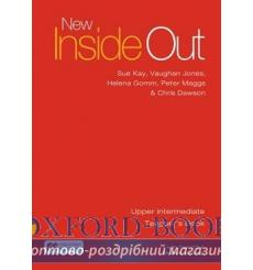 Книга для учителя New Inside Out Upper-Intermediate Teachers Book with eBook Pack ISBN 9781786327376 купить Киев Украина