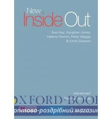 Книга для учителя New Inside Out Advanced Teachers Book with eBook Pack ISBN 9781786327406 купить Киев Украина