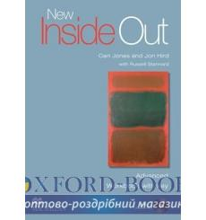 Тетрадь New Inside Out Advanced workbook with key and Audio CD 9780230009363 купить Киев Украина