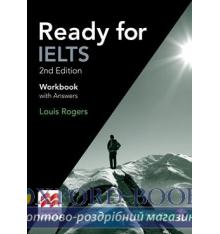 Робочий зошит Ready for IELTS 2nd Edition Workbook with key and Audio CDs ISBN 9781786328618