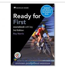Ready for First 3rd Edition Coursebook with key and eBook Pack