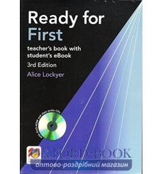 Ready for First 3rd Edition Teacher's Book with eBook Pack