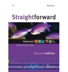 Straightforward 2nd Edition Advanced Class CDs