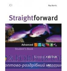 Підручник Straightforward 2nd Edition Advanced Students Book ISBN 9780230423442