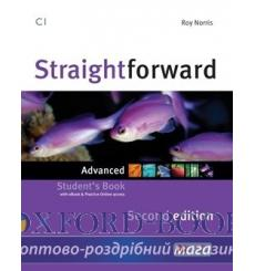 Учебник Straightforward Advanced Students Book with eBook Pack 2nd Edition 9781786327697 купить Киев Украина