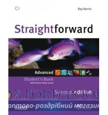 Підручник Straightforward 2nd Edition Advanced Students Book with webcode ISBN 9780230424494