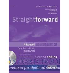 Книжка для вчителя Straightforward 2nd Edition Advanced Teachers Book with eBook Pack ISBN 9781786327703