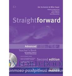 Straightforward Advanced Teachers Book with eBook Pack 3rd Edition 9781786327703 купить Киев Украина