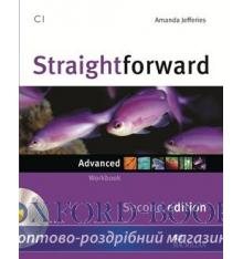 Робочий зошит Straightforward 2nd Edition Advanced Workbook without key with CD ISBN 9780230423459