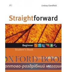 Підручник Straightforward 2nd Edition Beginner Students Book ISBN 9780230422957