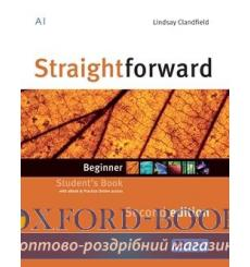 Учебник Straightforward Beginner Students Book with eBook Pack 2nd Edition 9781786327598 купить Киев Украина