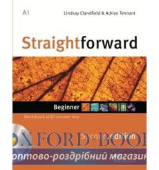 Тетрадь Straightforward Beginner Workbook with key and CD 3rd Edition 9780230422971 купить Киев Украина
