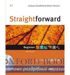 Тетрадь Straightforward Beginner Workbook without key with CD 2nd Edition 9780230422964 купить Киев Украина