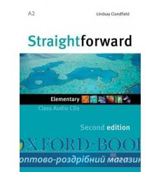 Straightforward Elementary Class CDs 2nd Edition 9780230423121 купить Киев Украина