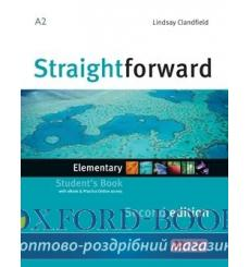 Учебник Straightforward Elementary Students Book with eBook Pack 2nd Edition 9781786327611 купить Киев Украина