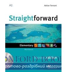 Тетрадь Straightforward Elementary Workbook without key with CD 2nd Edition 9780230423077 купить Киев Украина
