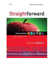Straightforward Intermediate Class CDs 2nd Edition 9780230423329 купить Киев Украина