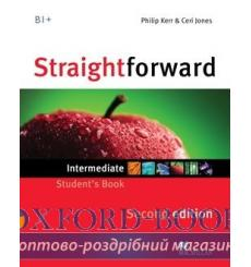 Учебник Straightforward Intermediate Students Book 3rd Edition 9780230423244 купить Киев Украина