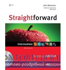 Тетрадь Straightforward Intermediate Workbook without key with CD 2nd Edition 9780230423251 купить Киев Украина