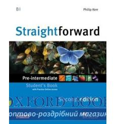 Учебник Straightforward Pre-Intermediate Students Book with webcode 3rd Edition 9780230424463 купить Киев Украина