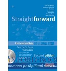 Straightforward Pre-Intermediate Teachers Book with eBook Pack 3rd Edition 9781786327635 купить Киев Украина