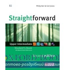Учебник Straightforward Upper-Intermediate Students Book with eBook Pack 2nd Edition 9781786327673 купить Киев Украина