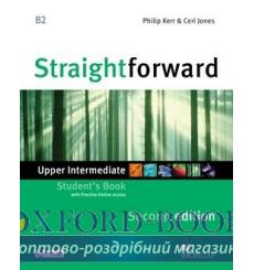 Учебник Straightforward Upper-Intermediate Students Book with webcode 3rd Edition 9780230424487 купить Киев Украина