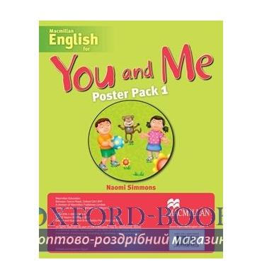 Книжка You and Me 1 Poster Pack ISBN 9781405079488