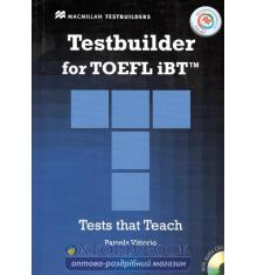 Тесты TOEFL iBT Testbuilder with key and Audio CDs and MPO ISBN 9780230452787