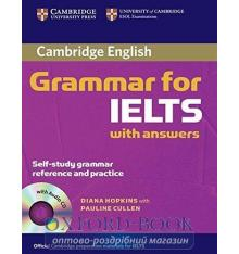 Підручник Cambridge Grammar for IELTS Students Book with Answers and Audio CD Hopkins, D ISBN 9780521604628