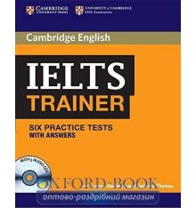 Тести Trainer: IELTS Six Practice Tests with answers with Audio CDs (3) Hashemi, L ISBN 9780521128209