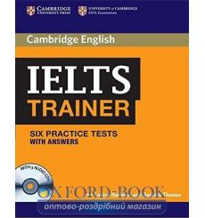 Тесты Trainer: IELTS Six Practice Tests with answers with Audio CDs (3) Hashemi, L 9780521128209 купить Киев Украина